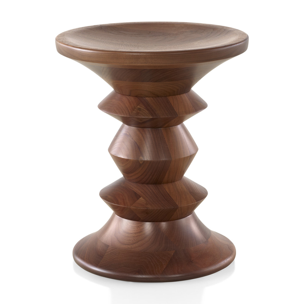 Herman Miller - Eames® Walnut Stools - Solid Walnut / Shape C - Lekker Home