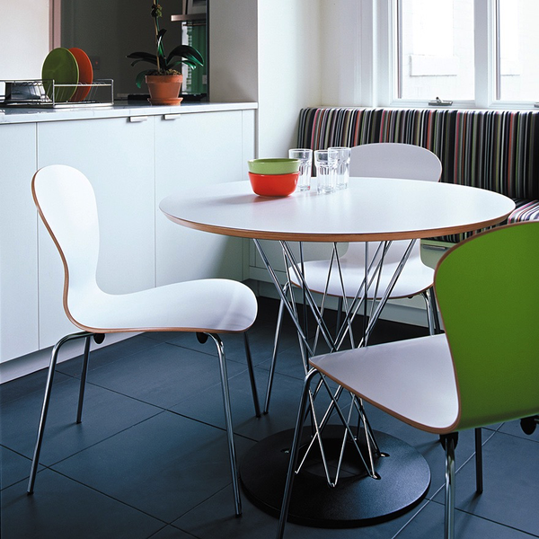 Knoll - Sprite Armless Stacking Chair - Lekker Home - 5