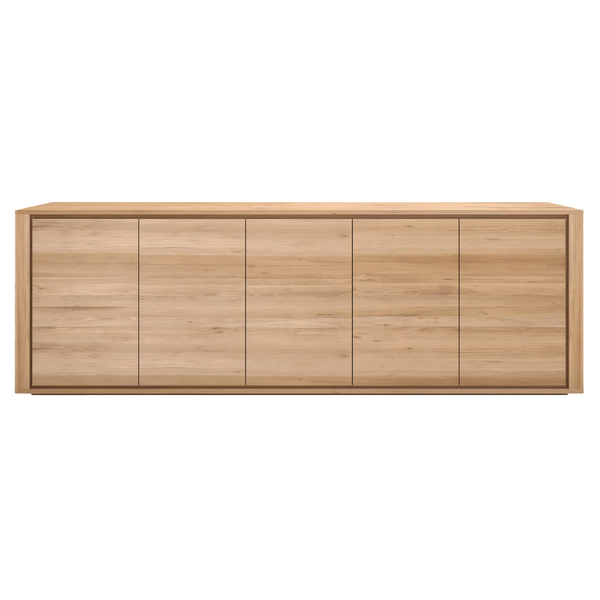 Ethnicraft NV - Oak Shadow Sideboard - Lekker Home - 6