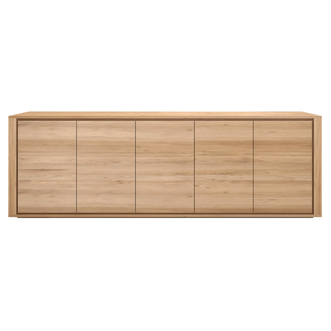 Ethnicraft NV - Oak Shadow Sideboard - Lekker Home - 4