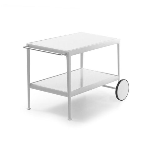 Knoll - 1966 Serving Cart - White / White Porcelain - Lekker Home