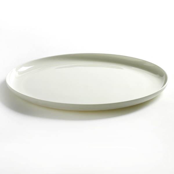 Serax - Base Low Plate - Matte White / Large - Lekker Home