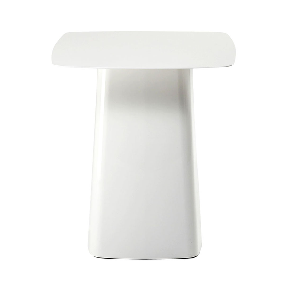 Vitra - Metal Side Table - Chocolate / Small - Lekker Home