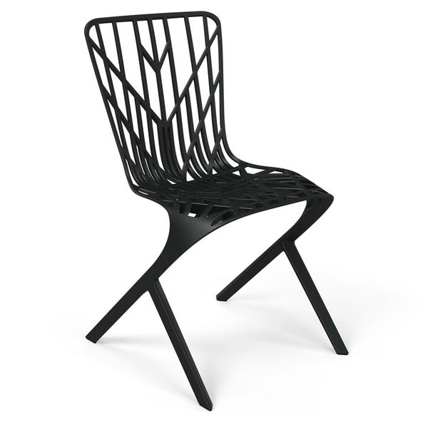 Knoll - Washington Skeleton™ Aluminum Side Chair - Lekker Home - 9
