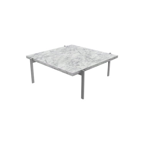 Fritz Hansen - PK61™ Coffee Table - Marble White Honed / PK61 - Lekker Home