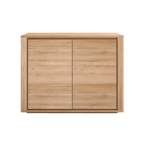 Ethnicraft NV - Shadow Sideboard - Solid Oak / 2 Door - Lekker Home