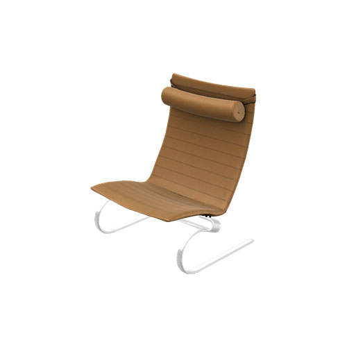 Fritz Hansen - PK20™ Easy Chair - Classic Leather Walnut / One Size - Lekker Home