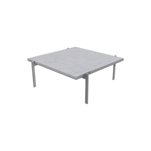 Fritz Hansen - PK61™ Coffee Table - Marble White Rolled / PK61 - Lekker Home