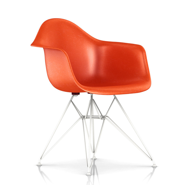 Herman Miller - Eames® Molded Fiberglass Armchair - Wire Base - Lekker Home - 25