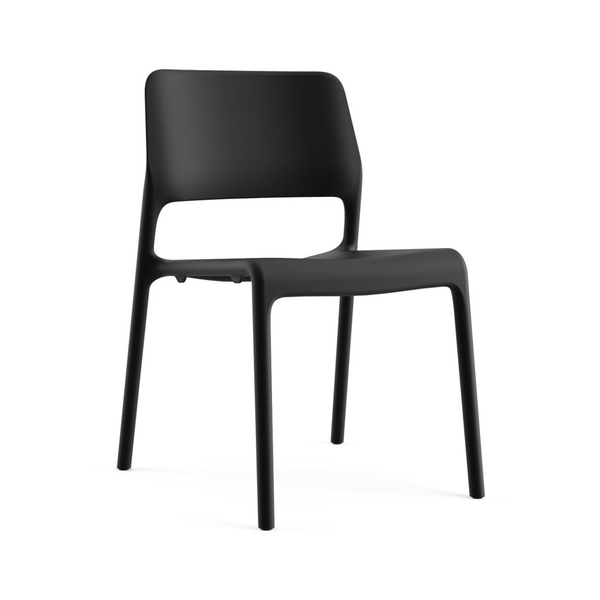 Knoll - Spark® Series Side Chair - Recycled Black / One Size - Lekker Home