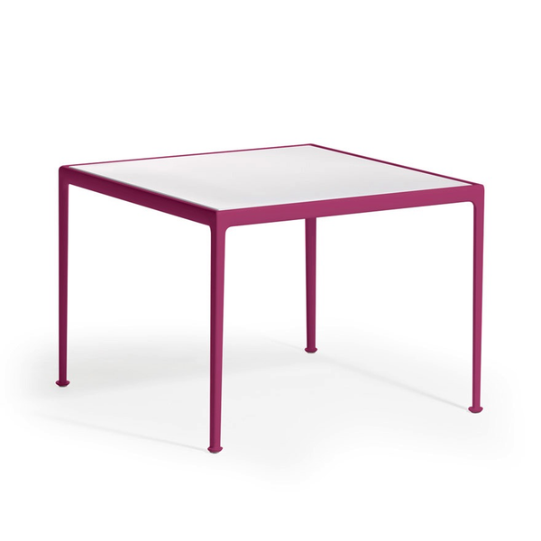Knoll - 1966 Dining Table - Plum/White / Square - Lekker Home