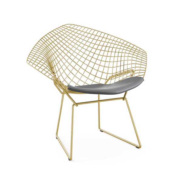 Knoll - Bertoia Diamond Chair - Gold - Lekker Home - 6
