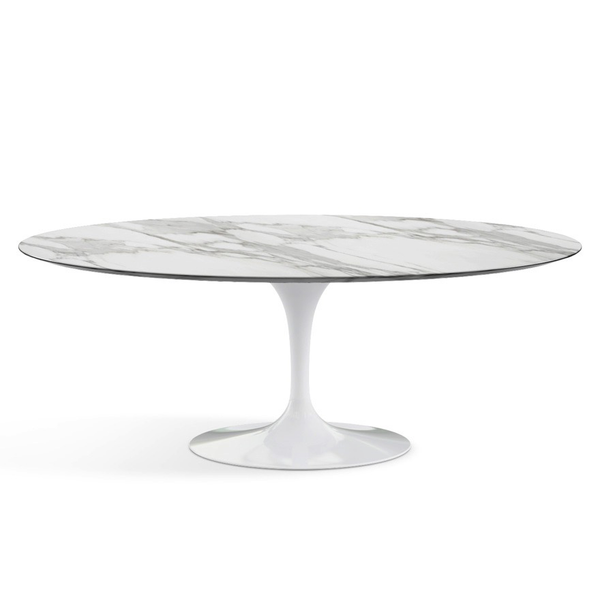 "Knoll - Saarinen Dining Table 78"" Oval - Lekker Home - 13"