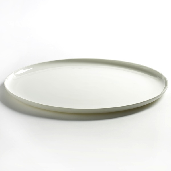 Serax - Base Low Plate - Matte White / Extra Extra Large - Lekker Home