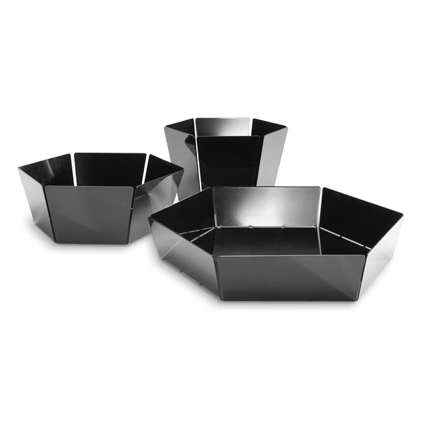 Blu Dot - 2D:3D Bowl - Black / Medium - Lekker Home