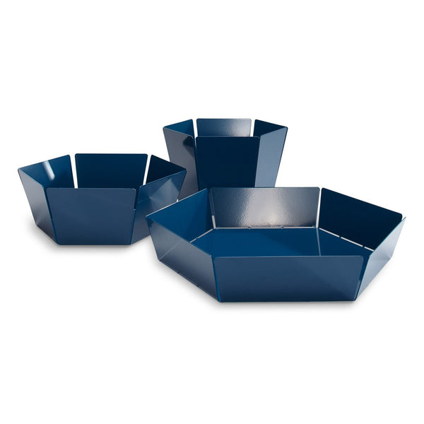 Blu Dot - 2D:3D Bowl - Space Blue / Large - Lekker Home