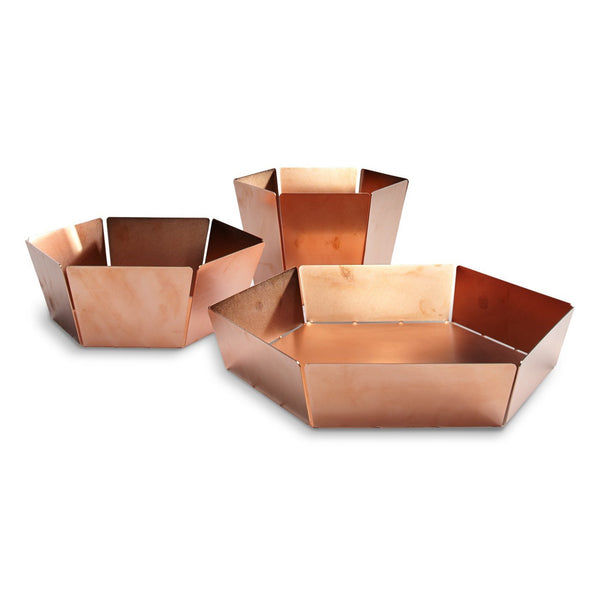 Blu Dot - 2D:3D Bowl - Copper / Medium - Lekker Home