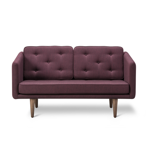 Fredericia - No. 1 2-Seater Sofa - Rime 981 / Oak Soap - Lekker Home