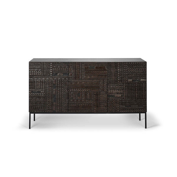 Ethnicraft NV - Ancestors Tabwa Sideboard - Three Door / One Color - Lekker Home
