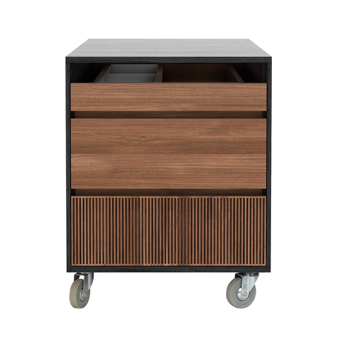 Ethnicraft NV - Oscar Drawer Unit - Teak / One Drawer - Lekker Home