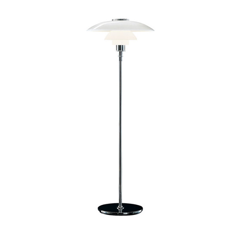 Louis Poulsen - PH 4-3 Glass Floor Lamp - Default - Lekker Home