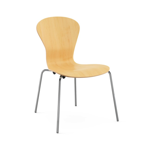 Knoll - Sprite Armless Stacking Chair - Lekker Home - 7