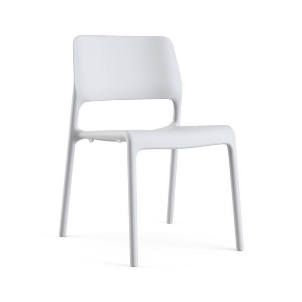 Knoll - Spark® Series Side Chair - Light Grey / One Size - Lekker Home