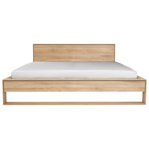 Ethnicraft NV - Oak Nordic II Bed - Lekker Home - 5