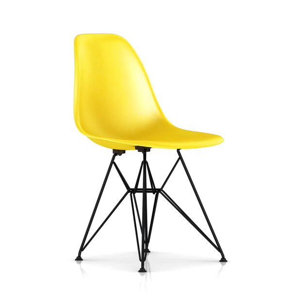 Herman Miller - Eames® Molded Fiberglass Side Chair - Wire Base - Lekker Home - 10