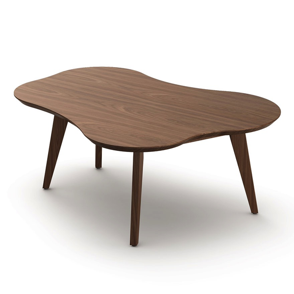 Knoll - Risom Amoeba Coffee Table - Light Walnut / One Size - Lekker Home