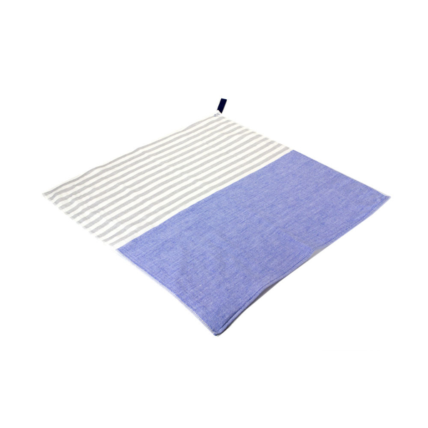 Yoshii Towel - Square Towel - Blue / One Size - Lekker Home