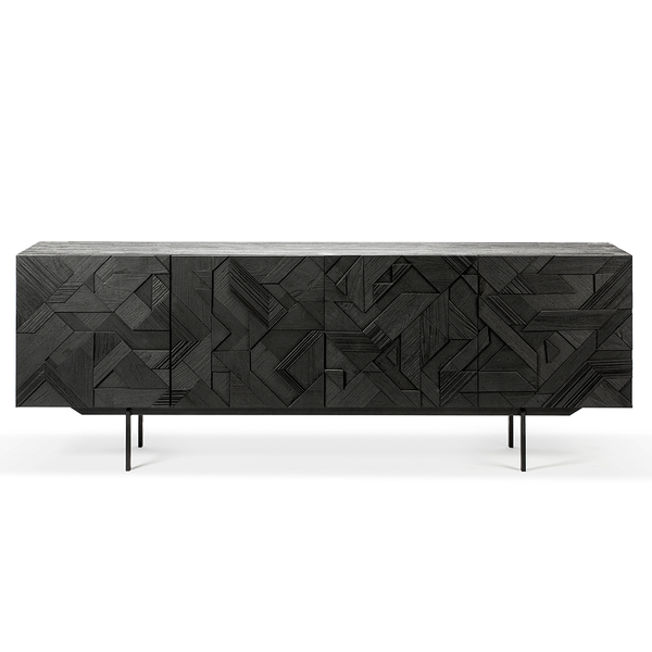 Ethnicraft NV - Graphic Sideboard - One Color / Four Doors - Lekker Home