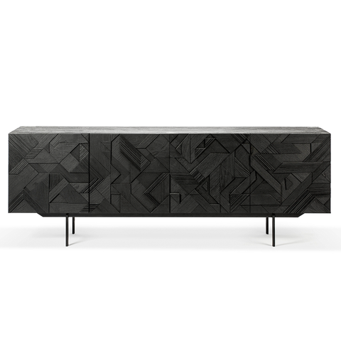 Ethnicraft NV - Graphic Sideboard - One Color / Three Doors - Lekker Home