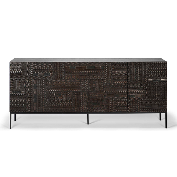 Ethnicraft NV - Ancestors Tabwa Sideboard - Four Door / One Color - Lekker Home
