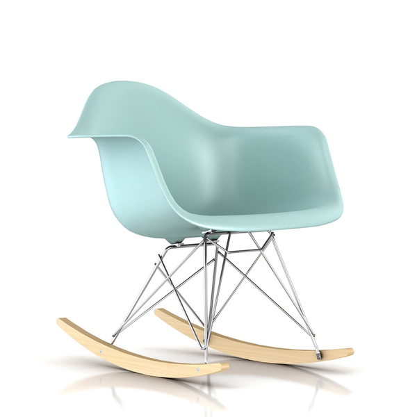 ... Herman Miller   Eames® Molded Plastic Armchair   Rocker Base   Lekker  Home ...