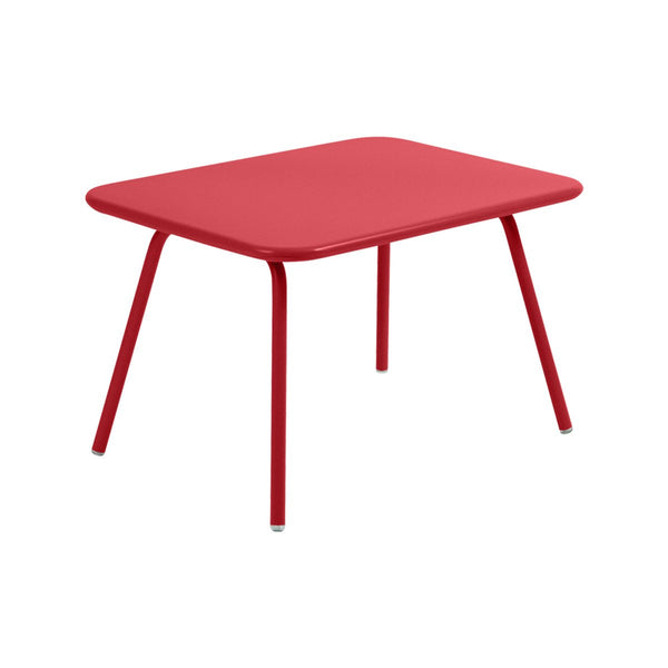 Fermob - Luxembourg Kid Table - Poppy Red / One Size - Lekker Home