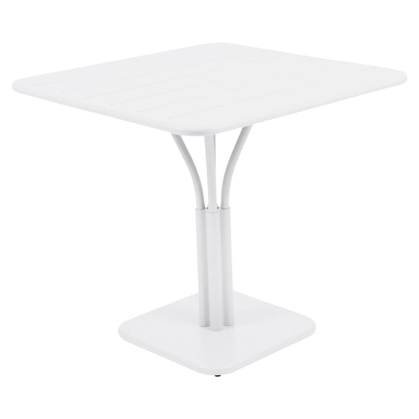 Fermob - Luxembourg Pedestal Dining Table - Cotton White / One Size - Lekker Home