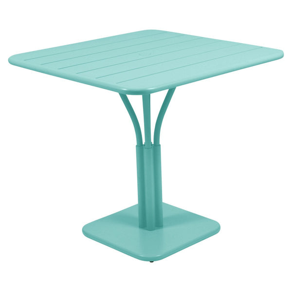 Fermob - Luxembourg Pedestal Dining Table - Lagoon Blue / One Size - Lekker Home