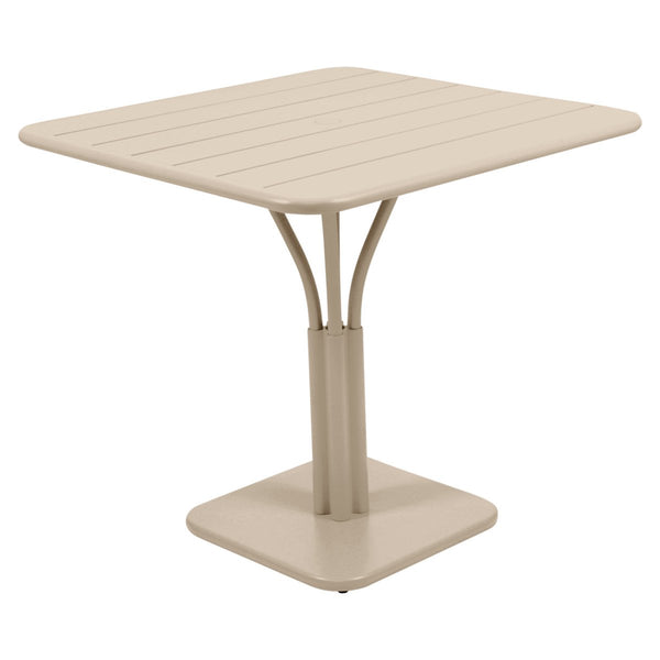 Fermob - Luxembourg Pedestal Dining Table - Nutmeg / One Size - Lekker Home