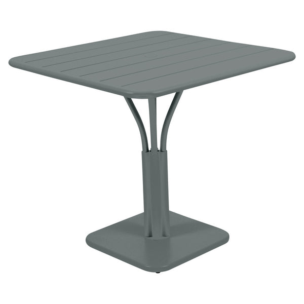 Fermob - Luxembourg Pedestal Dining Table - Storm Grey / One Size - Lekker Home