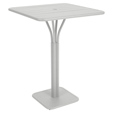 Luxembourg Pedestal High Bar Table