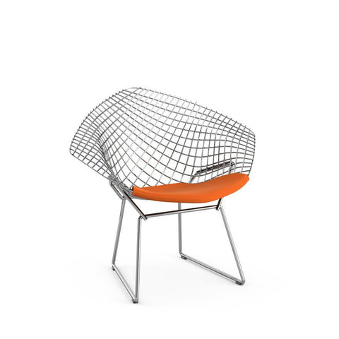 Knoll - Bertoia Child's Diamond Chair - Placid / Seat Cushion - Lekker Home
