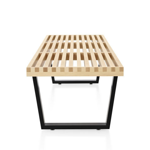 Herman Miller - Nelson™ Platform Bench - Wood Base/Maple / 48 Wide - Lekker Home