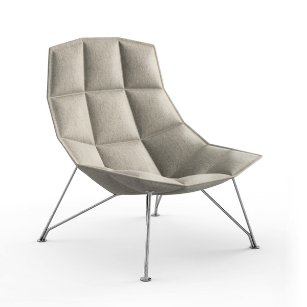 Knoll - Jehs+Laub Lounge Chair - Wire Base - Lekker Home - 9