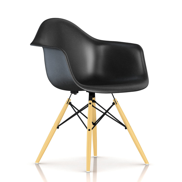 Herman Miller - Eames® Molded Fiberglass Armchair - Wood Dowel Base - Lekker Home - 35