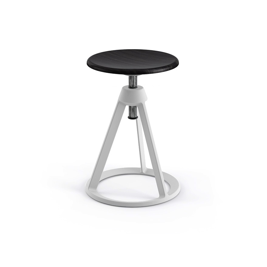Piton Adjustable Height Stool By Knoll Lekker Home
