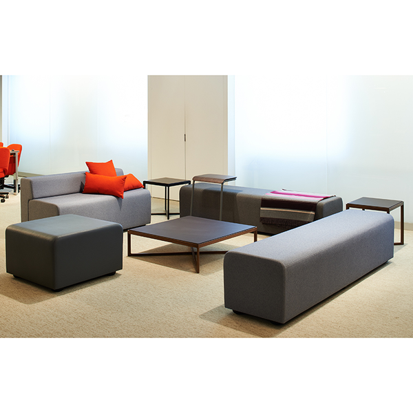 Knoll - Krusin Square Coffee Table - Lekker Home - 5