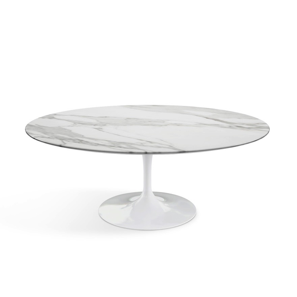 Knoll - Saarinen Coffee Table Oval - Lekker Home - 6