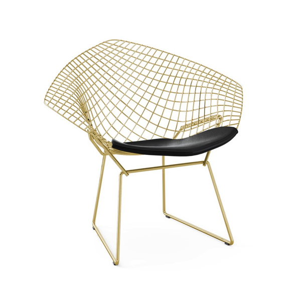 Knoll - Bertoia Diamond Chair - Gold - Lekker Home - 11