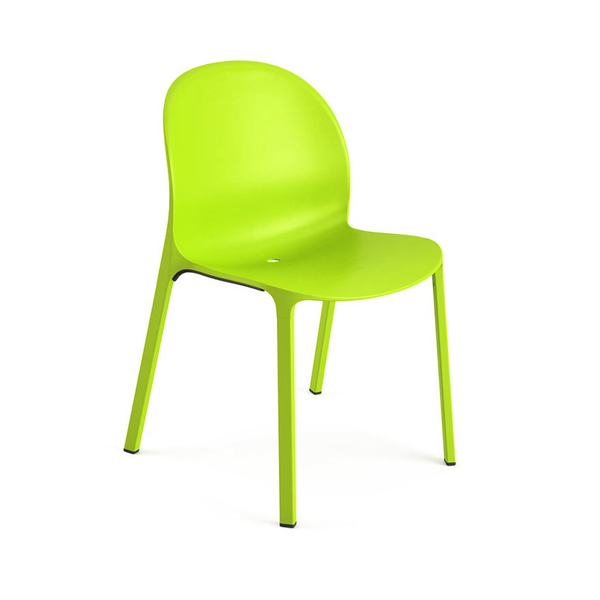 Knoll - Olivares Aluminum Chair - Lime / One Size - Lekker Home